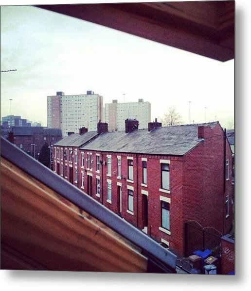 The View From My #house #roof Metal Print