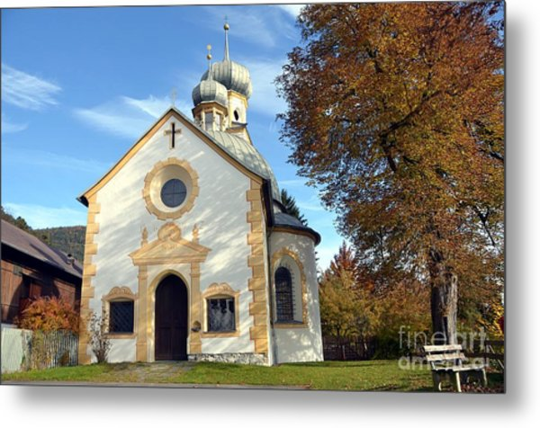 The Virgin Mary Church In Austria  Metal Print