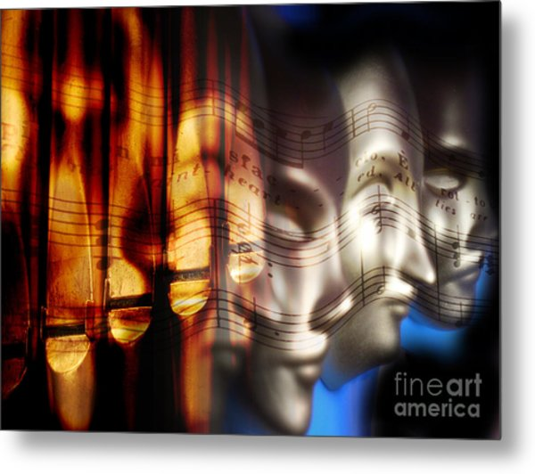 The Voices Metal Print
