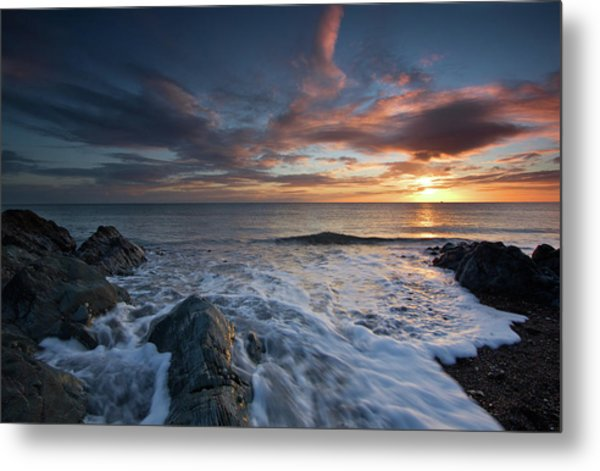 The Wash At Dawn Metal Print