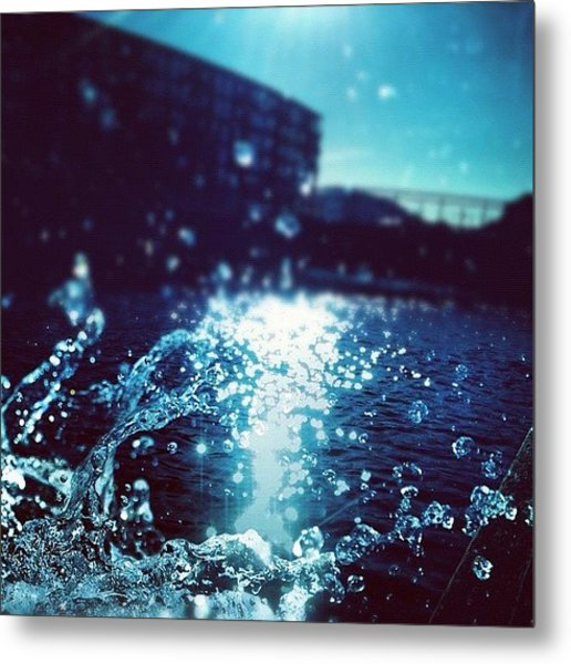 The Watersplash Metal Print