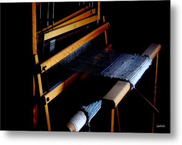 The Weavers Loom Metal Print by Stephen Paul West