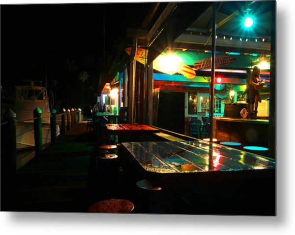 The Wet Bar Metal Print by Jose Rodriguez