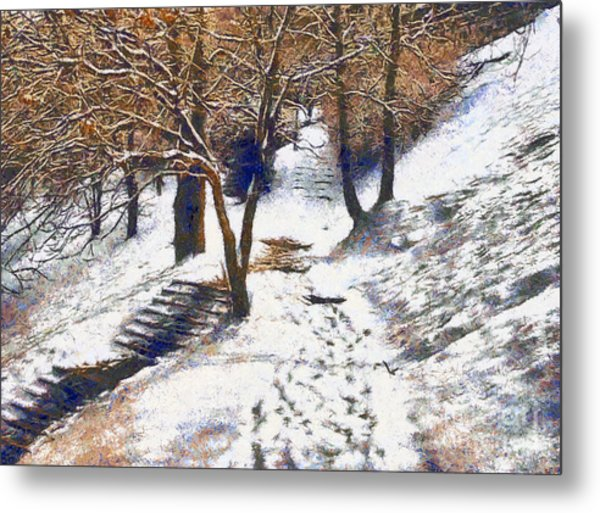 The Winter Park Metal Print
