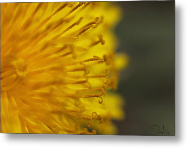 The Yellow Invasion Metal Print