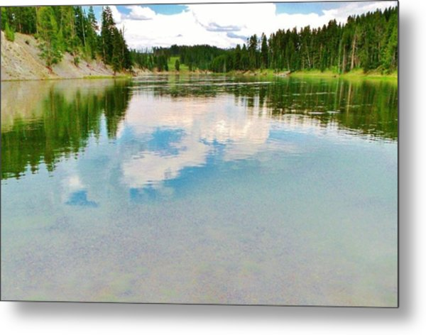 The Yellowstone Metal Print by Virginia Lei Jimenez