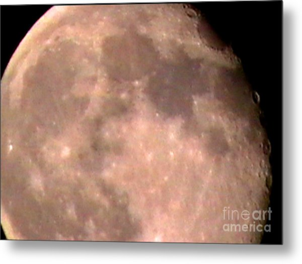 Theres A Moon Out Tonight Metal Print by John From CNY