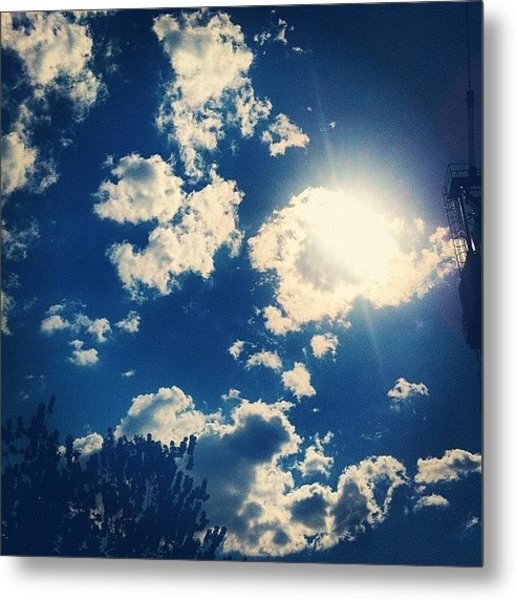 There's Sun In The City Too! And I Metal Print