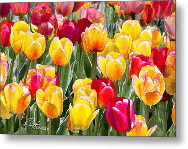 Think Spring Metal Print by Suni Roveto