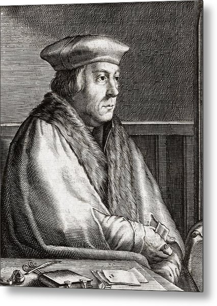 Thomas Cromwell, English Statesman Metal Print by Middle Temple Library