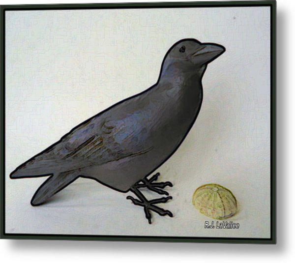 Thoughts Of A Bird Metal Print