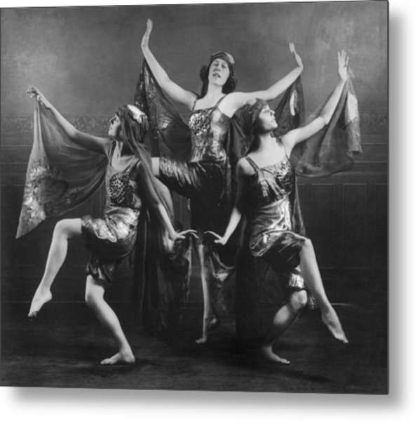 Three Graces Metal Print by Archive Photos
