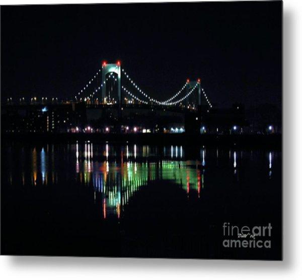 Throggs Neck Bridge Metal Print