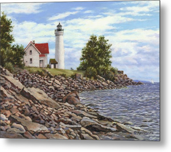Tibbetts Point Lighthouse Metal Print