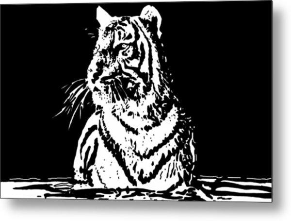 Tiger 1 Metal Print by Lori Jackson