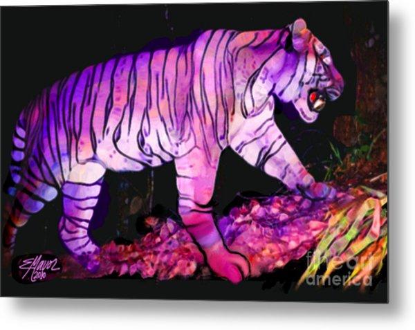 Tigertasia Metal Print
