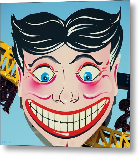 Tillie The Clown Of Coney Island Metal Print