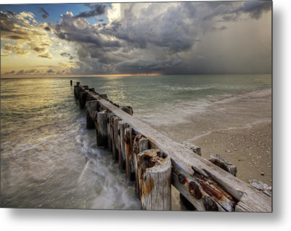 Time And Tide Metal Print