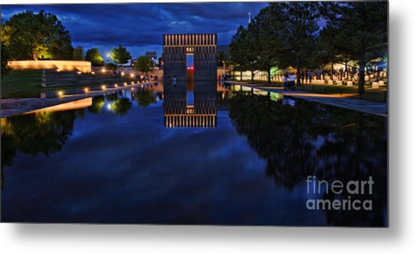 Time For Reflection Metal Print by Gib Martinez