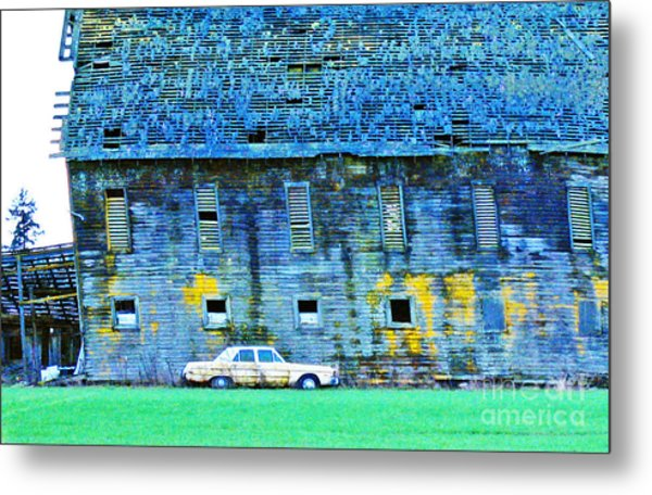 Time Marches On... Metal Print by Margaret Hood