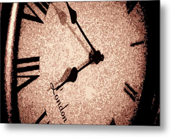 Time Waits For Her Metal Print by Dax Ian