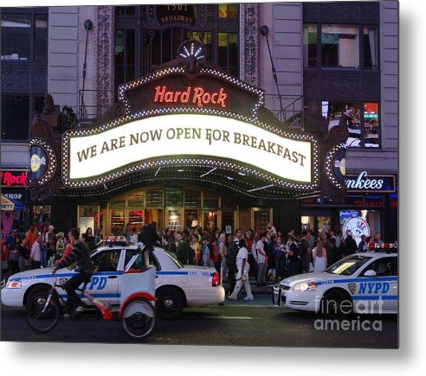 Times Square 53 Metal Print