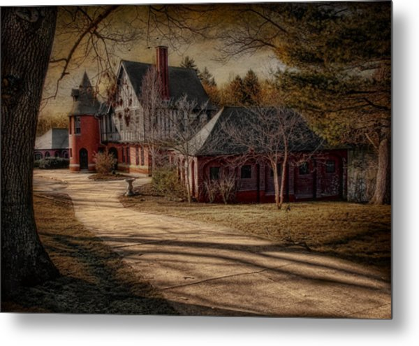 To The Round Room Metal Print by Robin-Lee Vieira