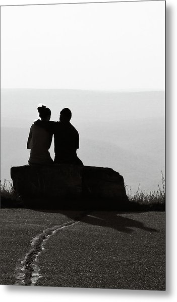 Together Metal Print