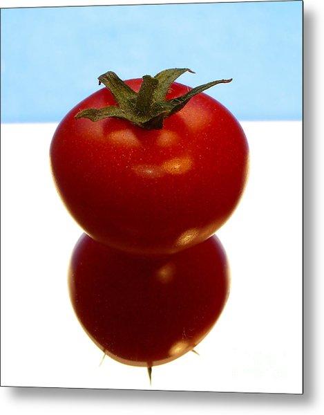 Tomato Metal Print by Odon Czintos