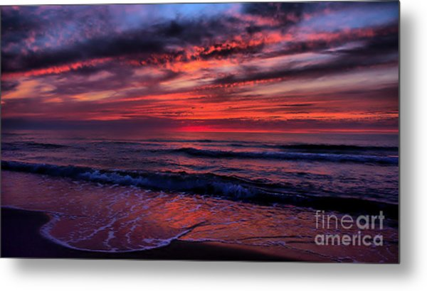 Tongue Of The Sea Metal Print