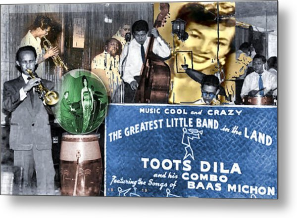 Toots Dila And Band Metal Print