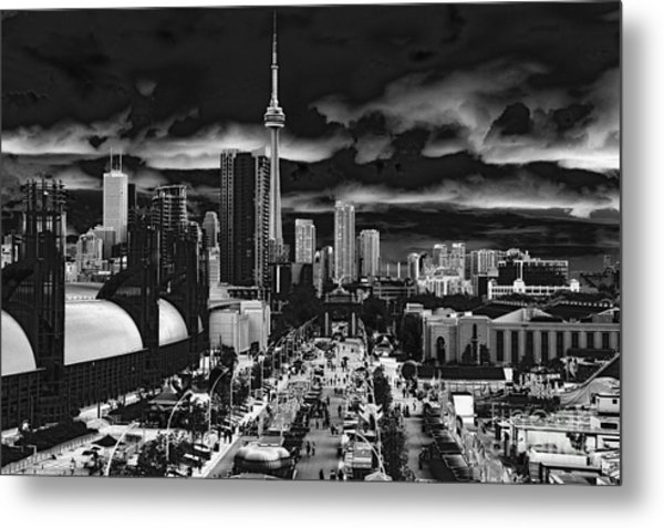 Toronto And The Ex Metal Print