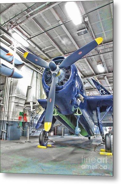 Torpedo Bomber Metal Print