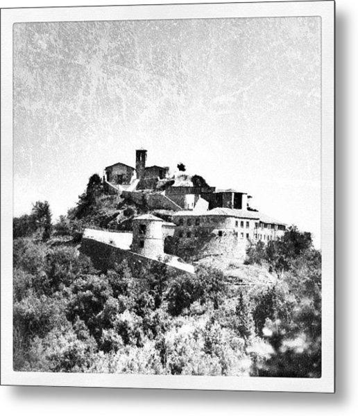 Torriana Castle Metal Print