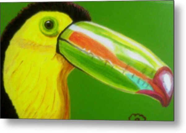 Toucan Bird Metal Print by Annette Stovall