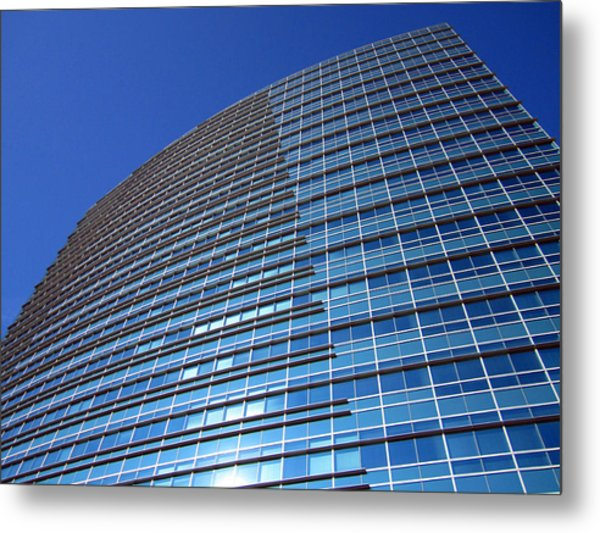 Touching The Sky Metal Print by Barry Jones