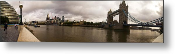 Tower Bridge Metal Print by Keith Sutton