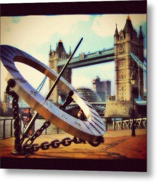 Tower Bridge #london Metal Print