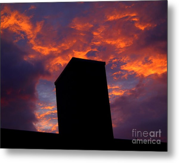 Towering Inferno  Metal Print by Tammy Cantrell