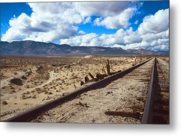 Track To The Mountains Metal Print by Jeffery Reynolds