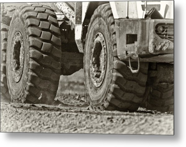 Traction Metal Print by Patrick M Lynch