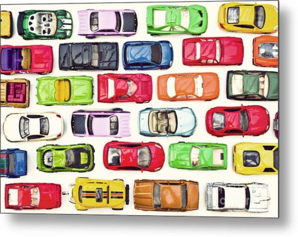 Traffic Jam Metal Print by Catherine MacBride