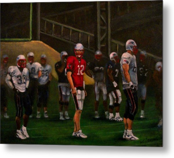 Training Camp Metal Print