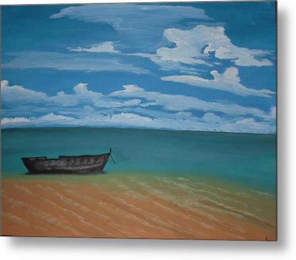 Tranquility Metal Print by Silvia Louro