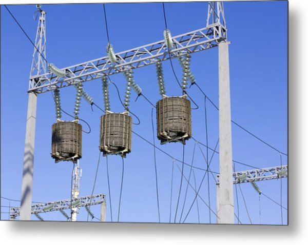 Transformers Of High Energy In  The Sky Metal Print