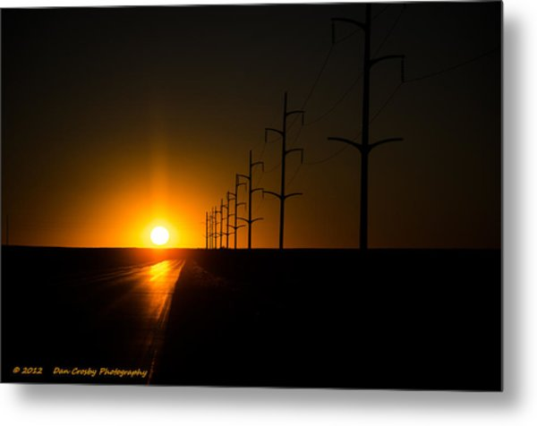 Traveling For Days Metal Print by Dan Crosby