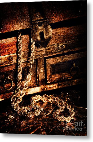 Treasure Box Metal Print by HD Connelly