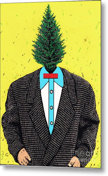 Tree Man Metal Print