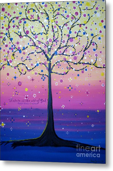 Tree Of Inspirations Metal Print