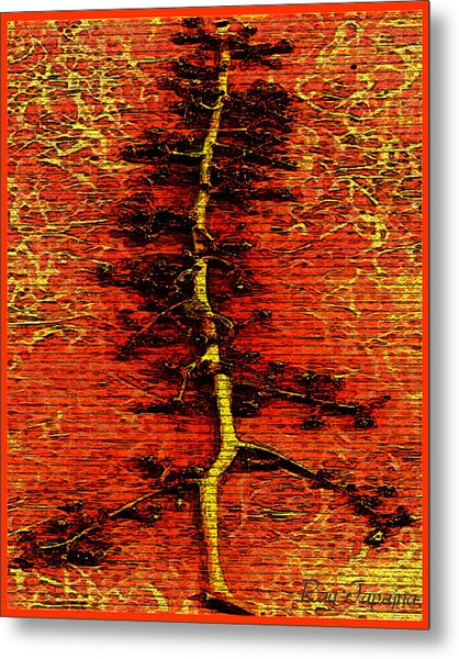 Tree Of Life Metal Print by Ray Tapajna